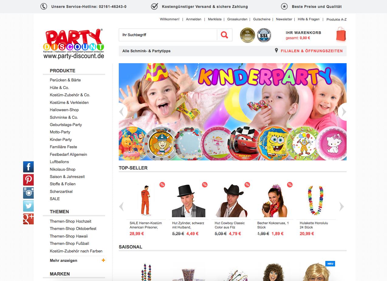 Party-Discount.de Gutschein