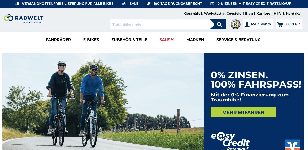 Radwelt-shop Gutschein