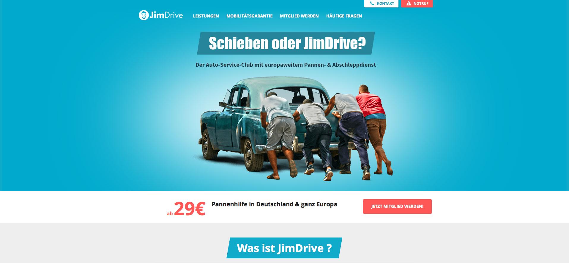 JimDrive Gutschein