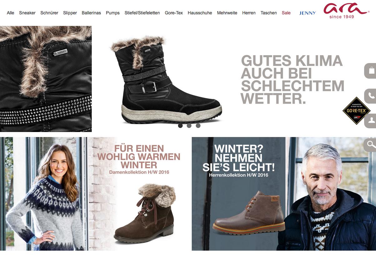 ara Shoes Gutschein