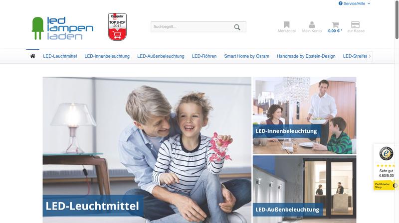 LED-Lampenladen Gutschein 20€ - 2018 garantiert gültig