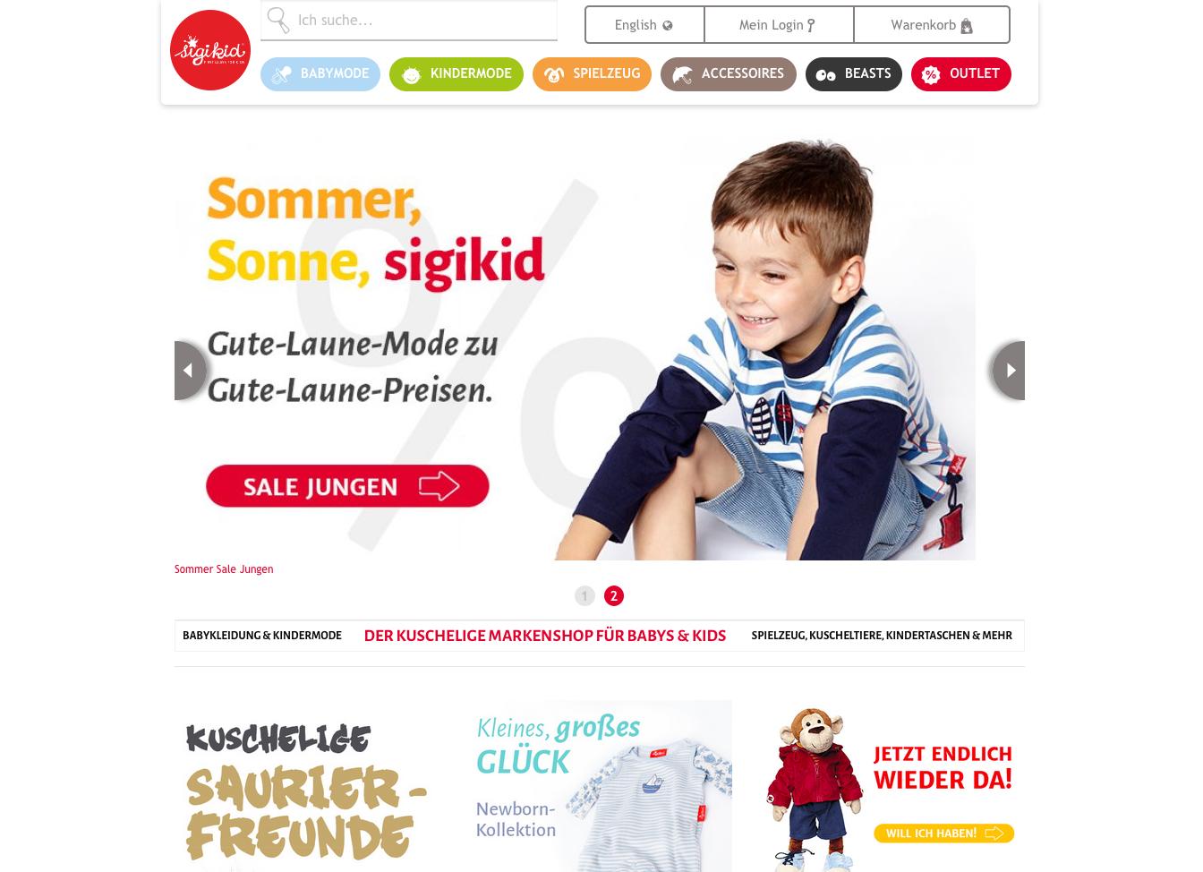 Sigikid-shop.de Gutschein