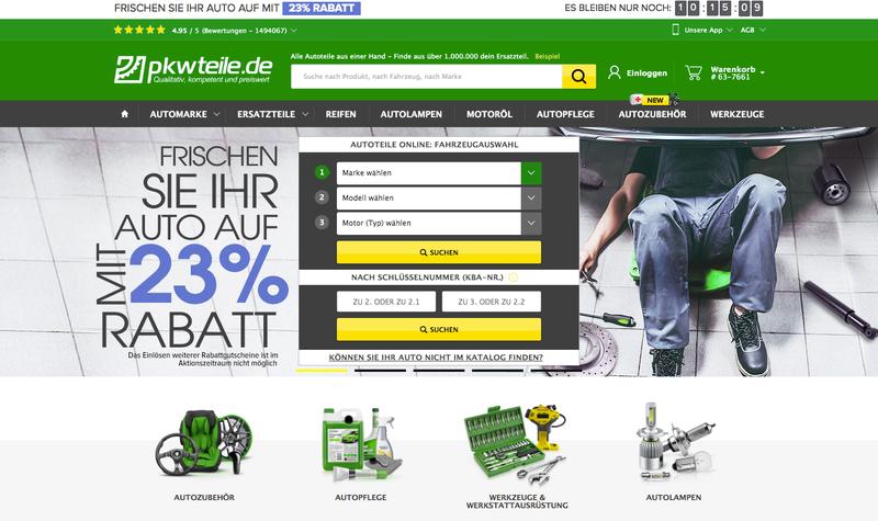 pkwteile.de Gutschein