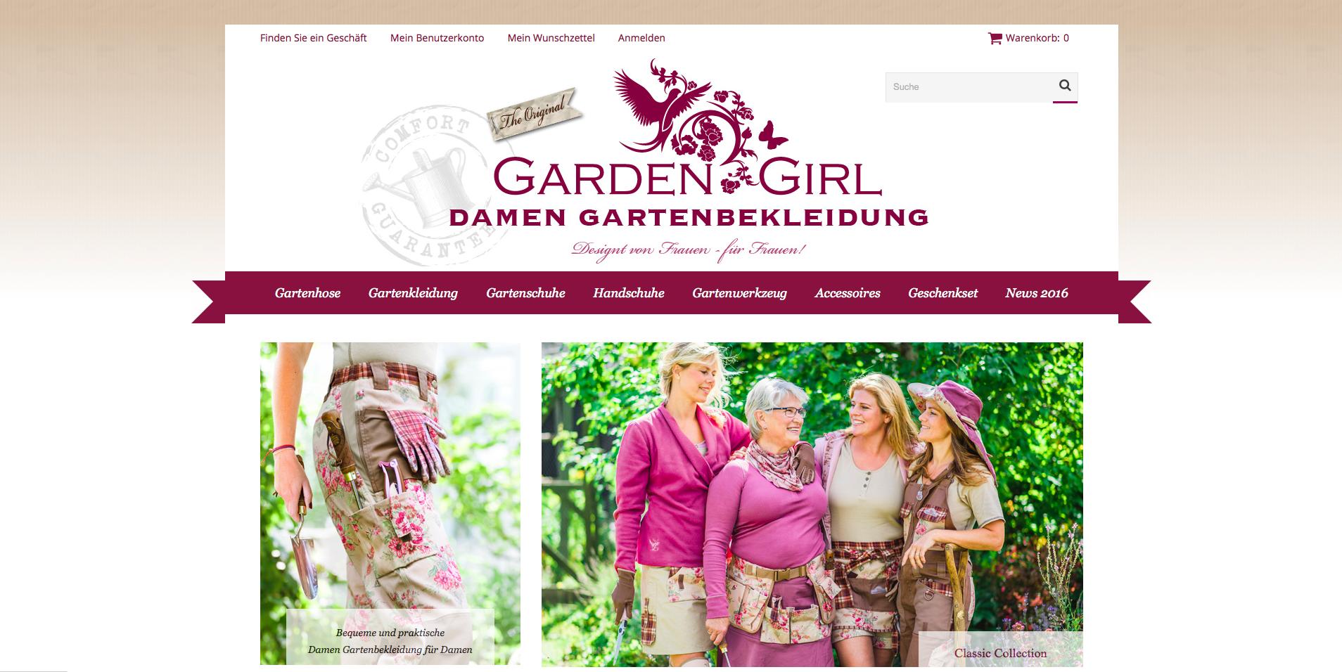 Garden Girl Gutschein