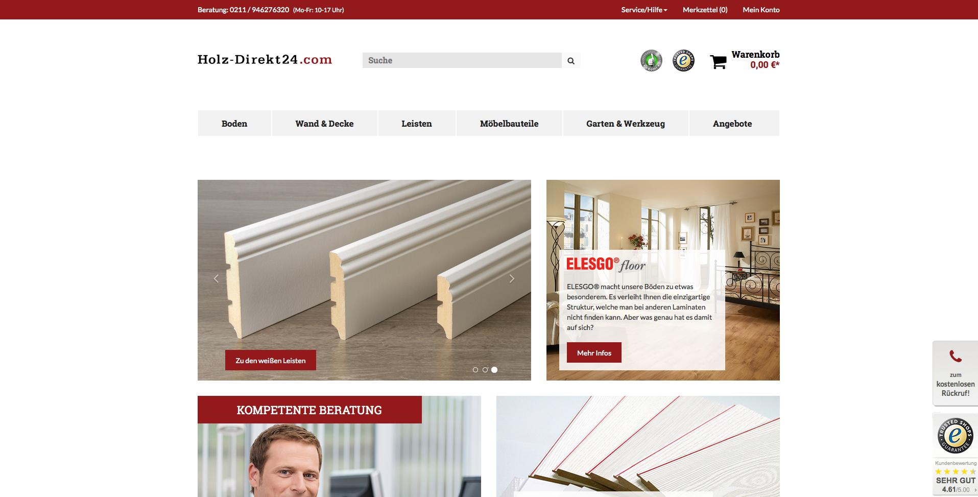 Holz-Direkt24.com Gutschein