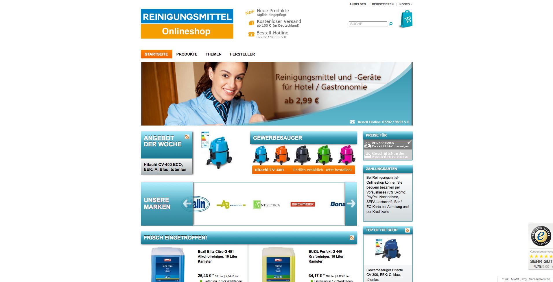 reinigungsmittel-onlineshop.de Gutschein