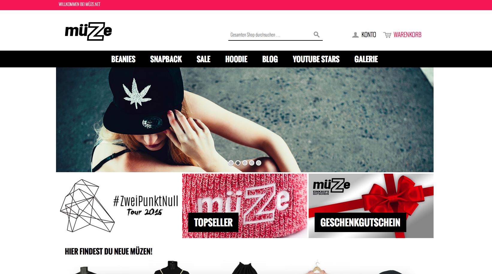 mueze.net Gutschein