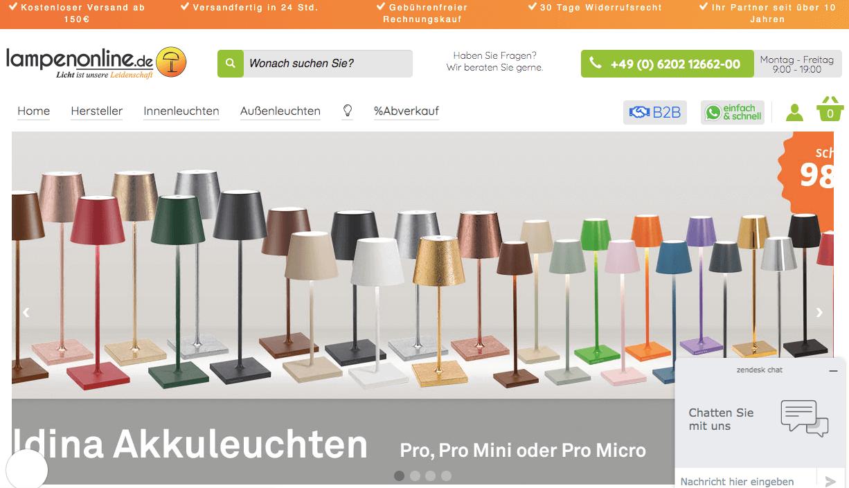 Lampenonline.de Gutschein