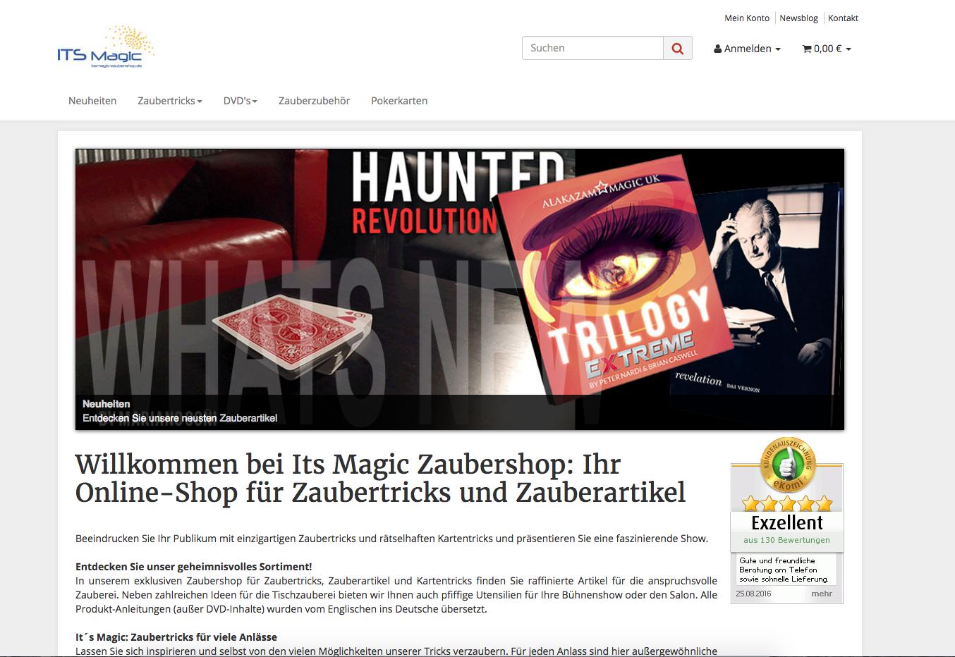 Its Magic Zaubershop Gutschein