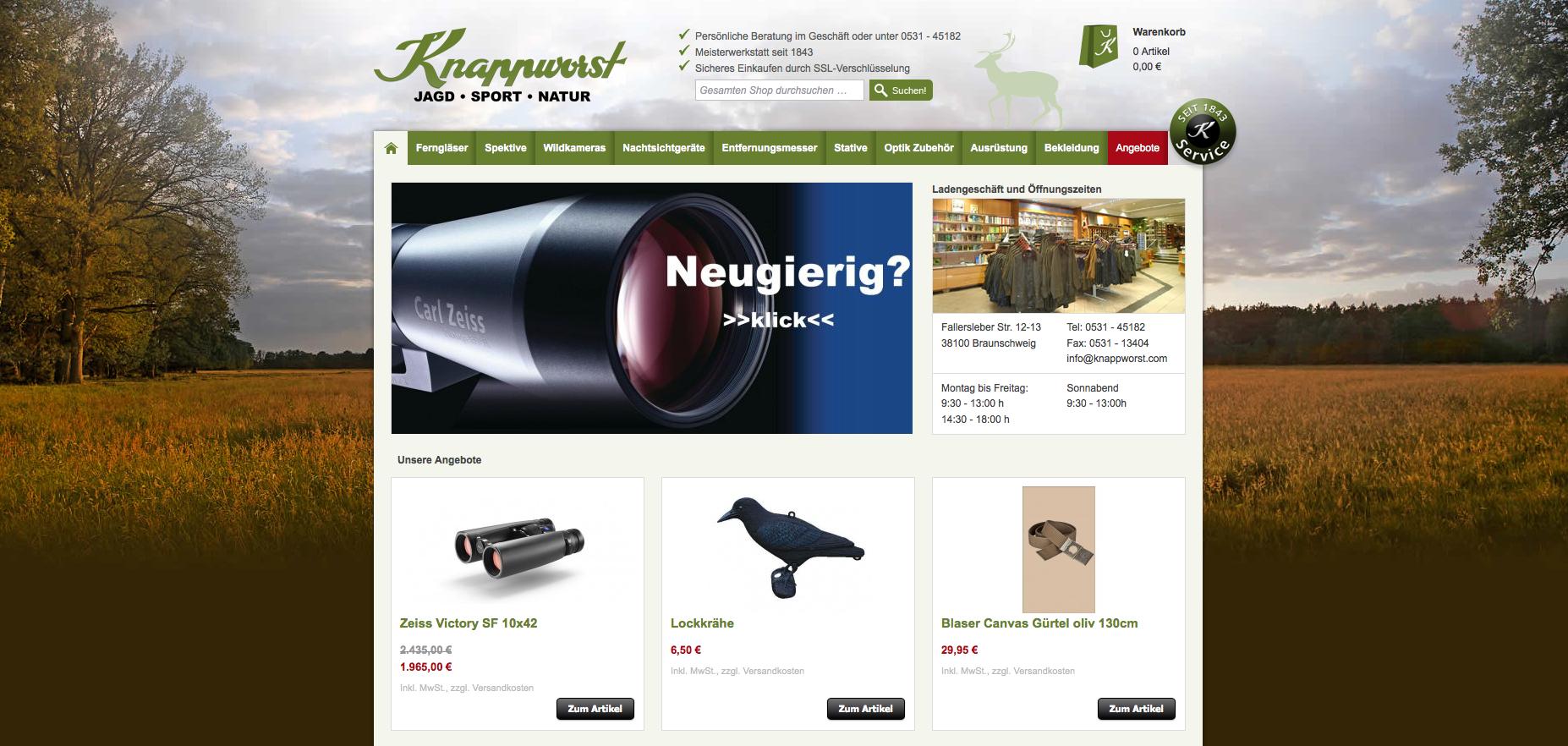 Knappworst.de Gutschein