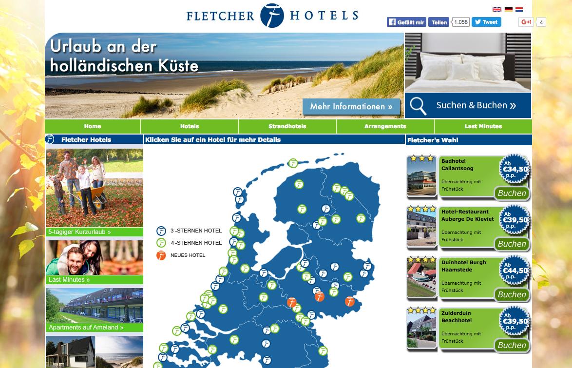 Fletcher Hotels Gutschein