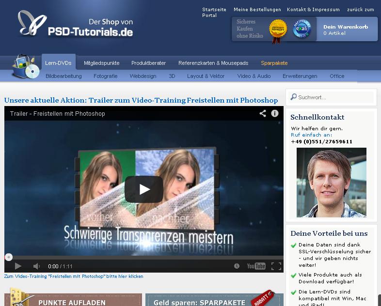 PSD-Tutorials.de Gutschein
