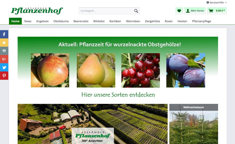 Artländer Pflanzenhof Gutschein