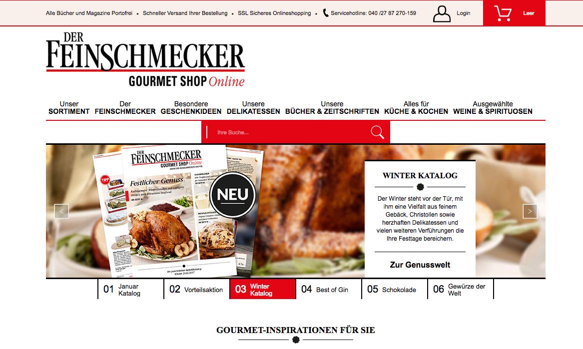 Feinschmecker Gourmet Shop Gutschein