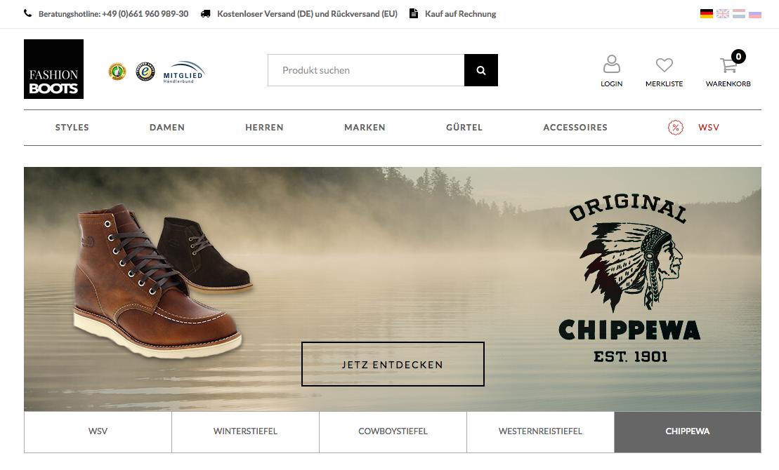 Fashion Boots Gutschein