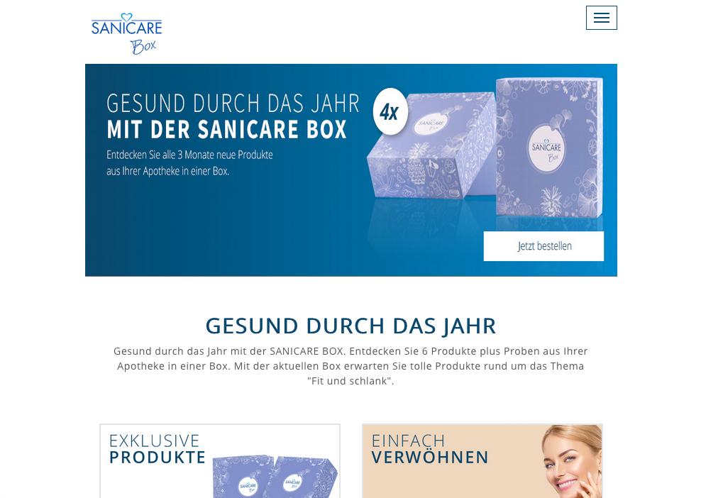 Sanicare Box Gutschein