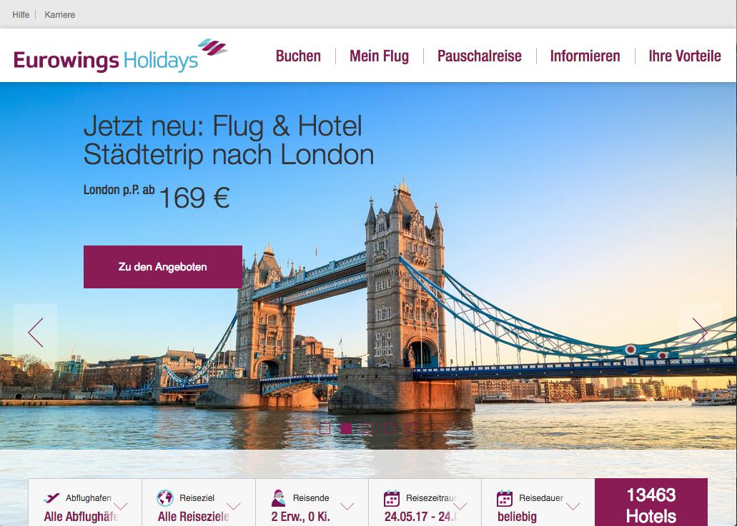 Eurowings Holidays Gutschein