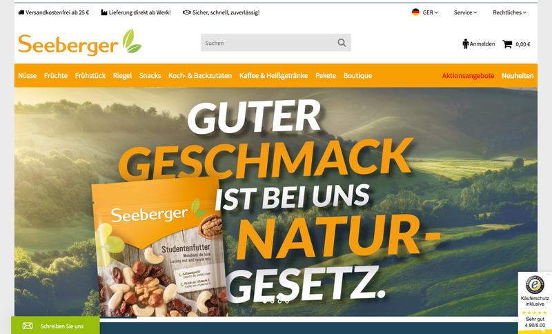 Seeberger Gutschein