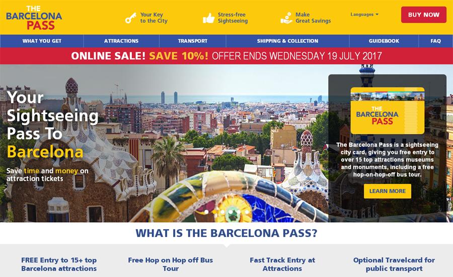 Barcelona Pass Gutschein