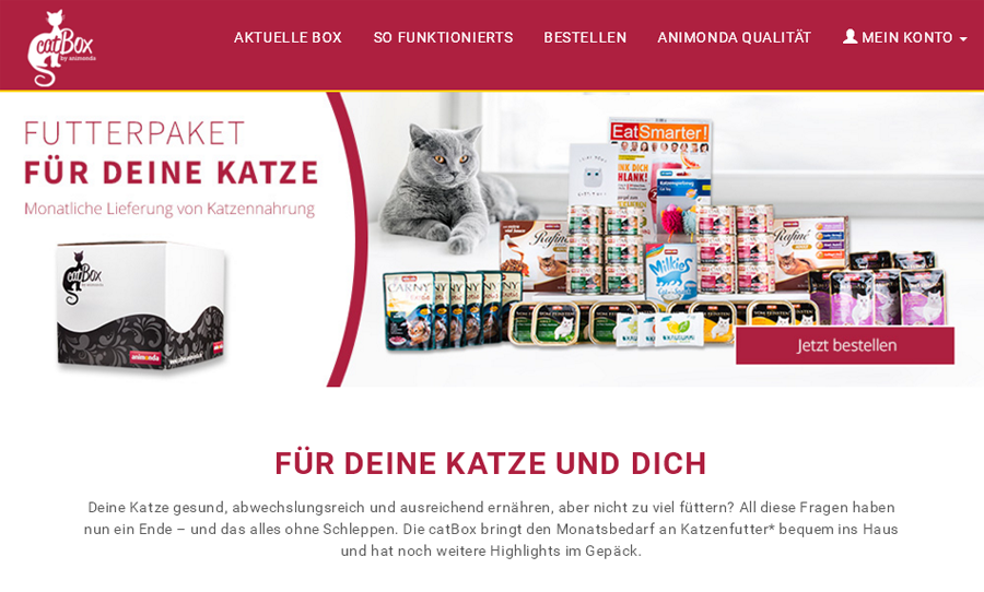 catBox Gutschein