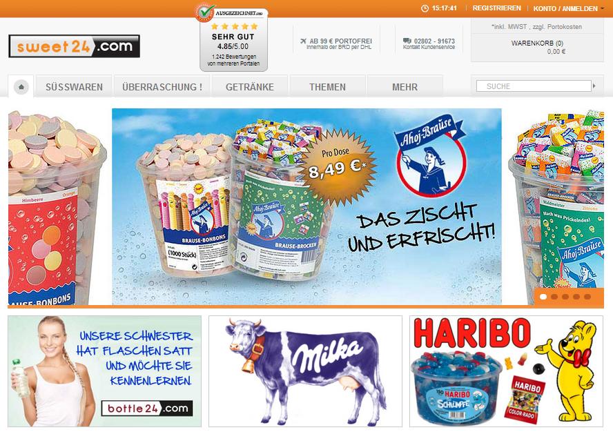 sweet24 Gutschein
