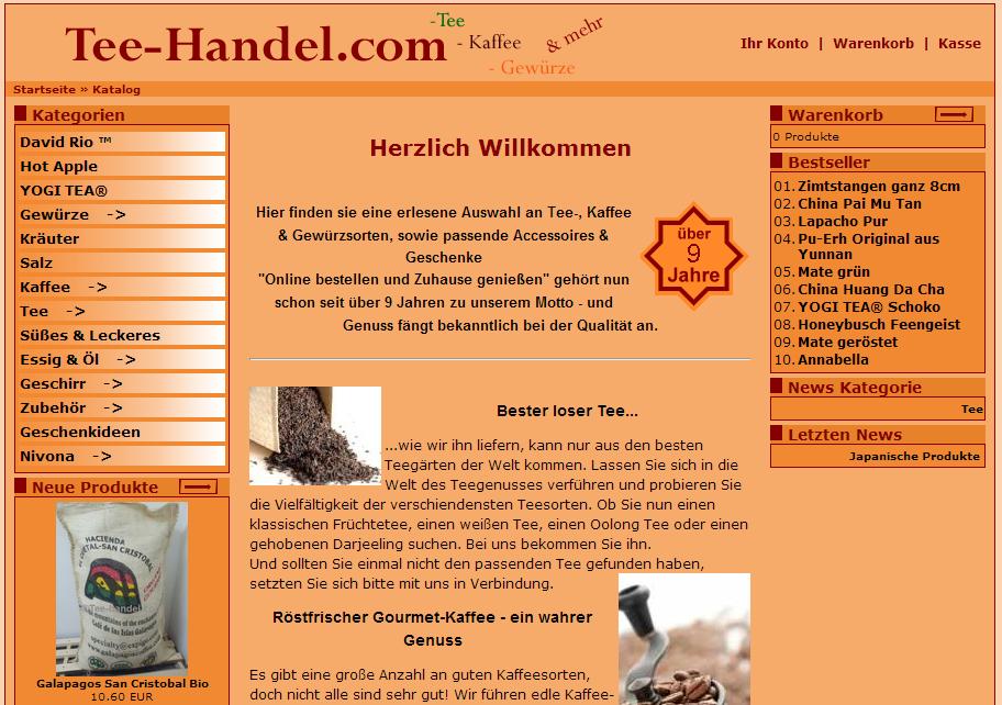 Tee-Handel.com Gutschein