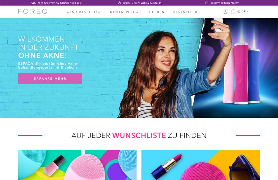 Foreo.com Gutschein