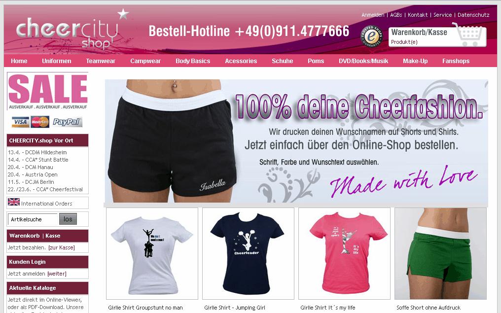 CHEERCITY.shop Gutschein