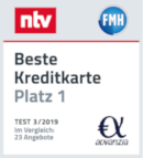 Platz 1 im NTV Test