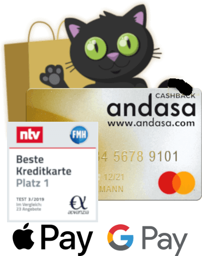 andasa icat with andasacard